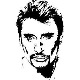 Portrait Johnny hallyday